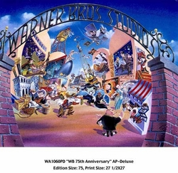 WB 75th Anniversary (AP) - Deluxe Litho