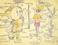 What's Opera, Doc? Color Model - Bugs Bunny Art