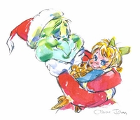 Who Hug  Grinch,  Cindy Lou & Max - How The Grinch Stole Christmas