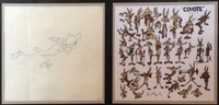 Wile E. Coyote Double Aperture - Production Drawings