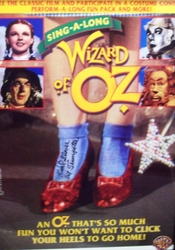 Wizard of Oz 1st Trumpeter signed poster