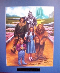 Wizard Of Oz Signed Yellow Brick Road