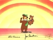 Yogi and Boo Boo Production Cel (1980's)<br><font color=red>Please Call - Yogi Bear
