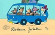 Yogi and Friends on Bus - Yogi Bear