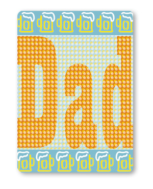 Beer Mugs <br> Father's Day Card