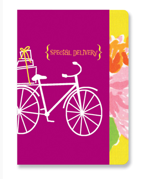 BICYCLE <br> fashion floral card
