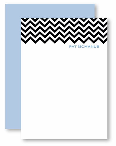 chevron with light blue