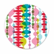 COLORFUL GARLANDS coasters <br> box of 12