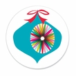 COLORFUL ORNAMENT coasters <br> box of 12