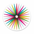 COLORFUL STARBURST coasters <br> box of 12