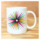 Colorful Starburst Mug