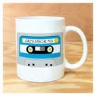 dad's mix tape mug