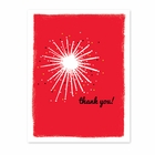 DAZZLING STAR thank you cards