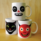 Frightful Ghoouls Mug Collection