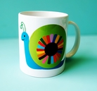 happy snail <br> mug