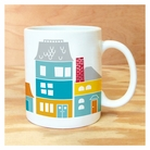 Happy Village Mug
