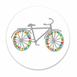 HOLIDAY BIKE coasters <br> box of 12