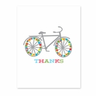HOLIDAY BIKE thank you cards