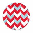 HOLIDAY CHEVRON coasters <br> box of 12