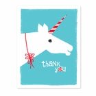 HOLIDAY UNICORN thank you cards