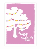 Loving Tree Valentine's Day Card