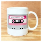 mom's special mix tape mug