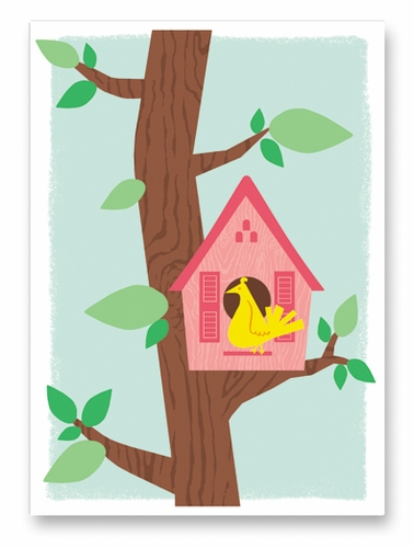 Mother's Day Birdhouse Card