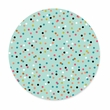 PISTACHIO MINI DOT coasters <br> box of 12