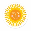 SMILING SUN coasters <br> box of 12