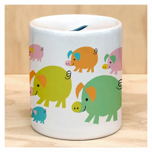Whole Lotta Piggies Coin Bank
