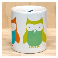 Wise Owls Coin Bank