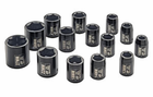 "1/2"" Drive, Standard  Length Metric Impact Socket Set"