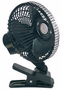"12-Volt ""Quick Clip"" Oscillating Fan"