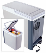 12 Volt 18 Quart Compact Thermo Electric Cooler Amp Warmer
