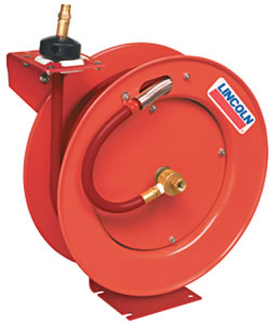 "3/8"" X 50 Ft. Retractable Air Hose Reel"