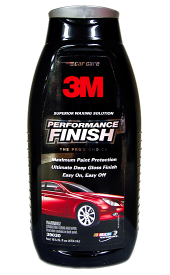 3M Performance Finish Wax 16 oz.