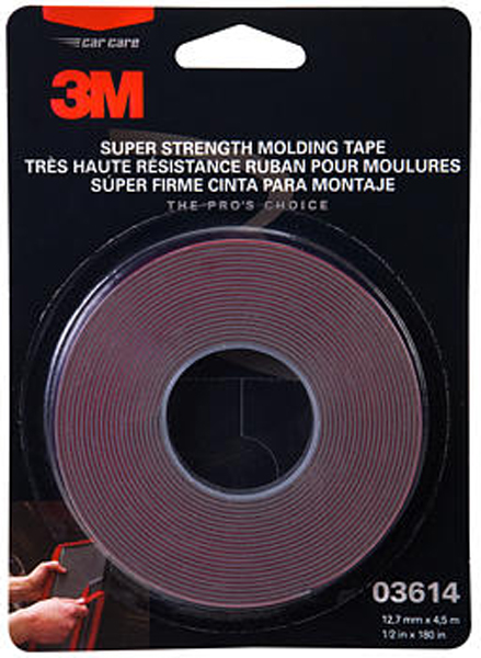 3m Scotch Mount Molding Tape Quot X 15 Mmm03614