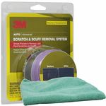 3M Scratch Remover Kit & Microfiber Cloth Kit
