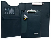 "9¼"" x 12½"" Padded Clipboard with Inside Pockets"