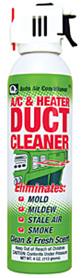 A/C & Heater Duct Cleaner & Deodorizer 4 oz.