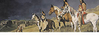 """American Indian """"Gathering Storm"""" Rear Window Decal"""