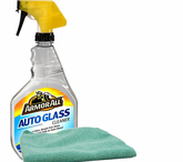 Armor All Auto Glass Cleaner (22 oz.) & Microfiber Cloth Kit