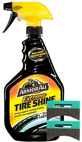 Armor All Extreme Tire Shine 22 oz. & Applicator Pads Kit