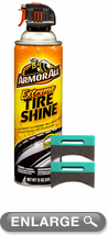 Armor All Extreme Tire Shine Aerosol (15 oz.) & Applicator ...