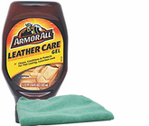 Armor All Leather Care Gel (18 Oz.) & Microfiber Cloth Kit