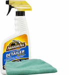 Armor All Natural Finish Detailer Protectant (16 oz.) & Microfiber Cloth Kit