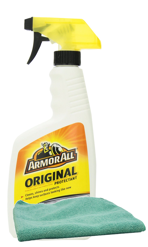 Armor All Original Shine Protectant 16 oz. & Microfiber Cloth Kit