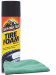 Armor All Tire Foam Protectant (20 oz.) & Microfiber Cloth Kit