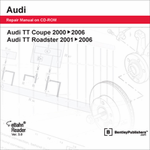 Audi TT Coupe & Roadster Repair Manual on DVD-ROM (2000-2006)