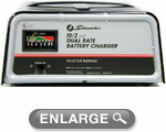 Schumacher Battery Charger (10/2 AMP Dual Rate)